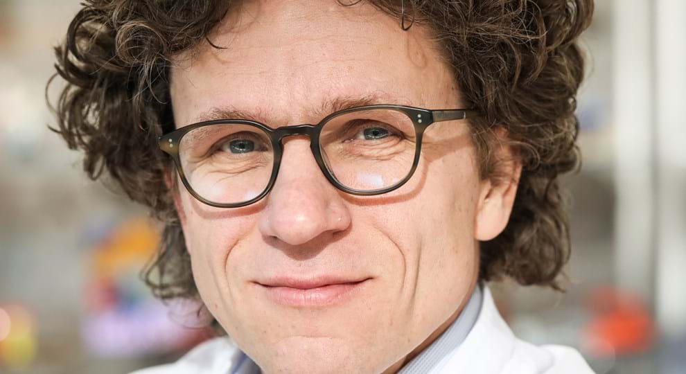 Oncoloog Gabe Sonke Beeld Eva Plevier